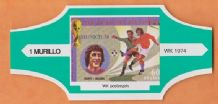 1974 World Cup Cigar Band Holland Johan Cruyff (Green)